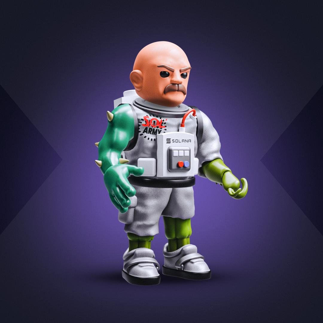 3D SOLDIER #3240